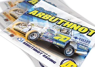 Dirt Modified Hero Card