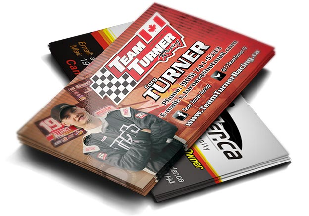 Racing Business Cards