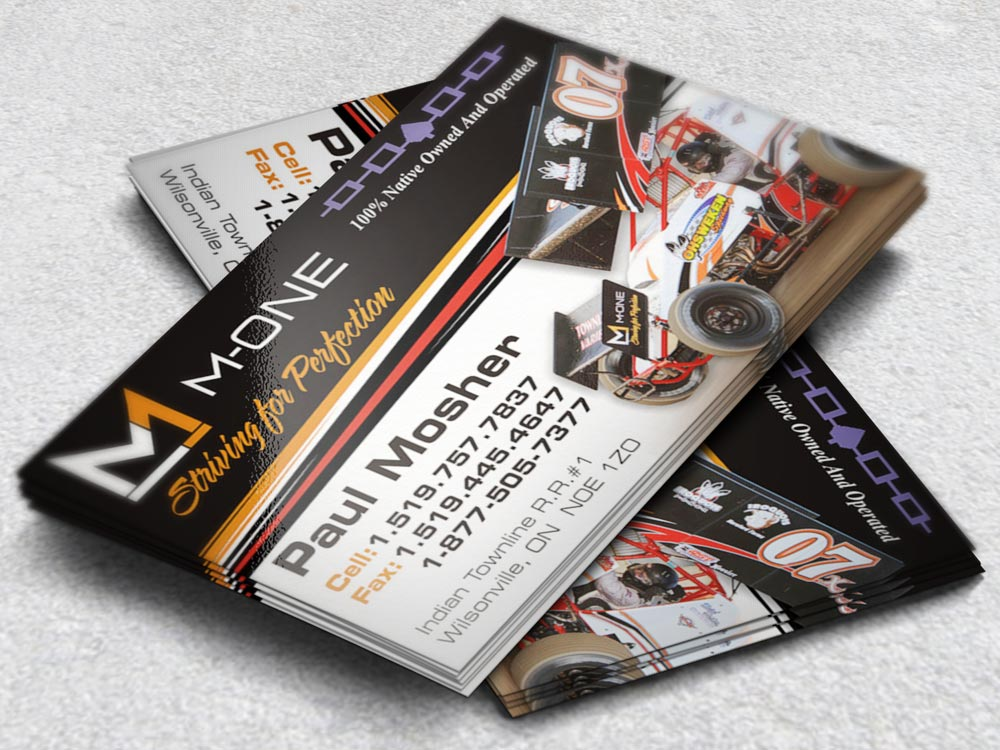 Racing Business Cards for Teams & Drivers | Image Factor Media
