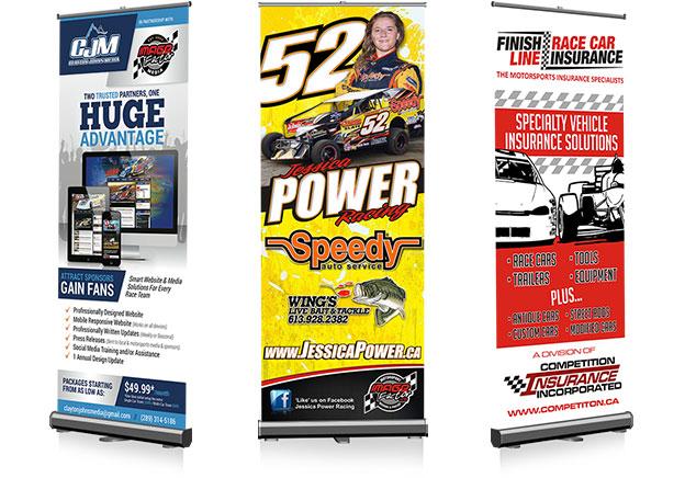 Vinyl Racing Banners