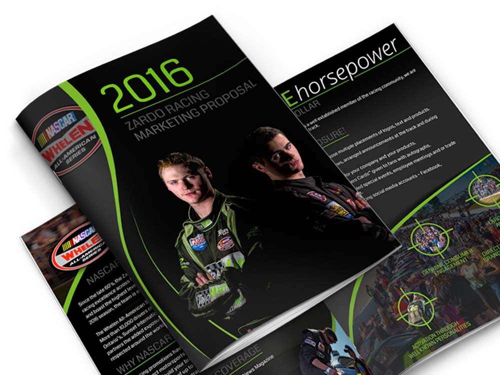 professional race team sponsorship proposals
