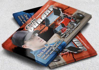 Racing Business Cards Durand