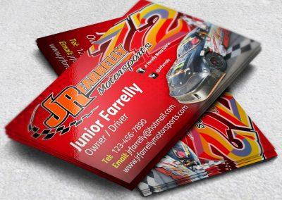 Racing Business Cards JR