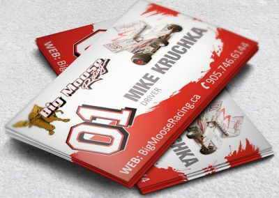 Racing Business Cards Mike