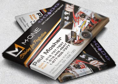 Racing Business Cards Mosher