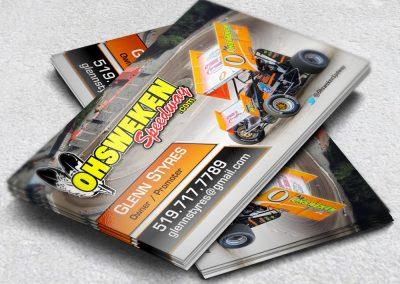 Racing Business Cards Ohsweken